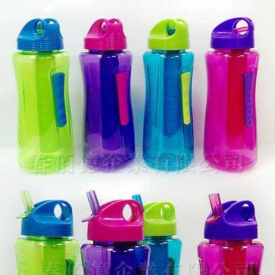COOL GEAR 冷凍柱運動水壺 (1入含保冷棒) 自行車水壺 冷水壺 隨行杯 隨身壺 保冷棒(顏色隨機)