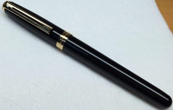 威利的鋼筆世界【西華新款平價鋼筆大集合】9成5新SHEAFFER PRELUDE黑色亮烤漆鋼筆 F