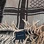 GUCCI 古馳  GG logo 格紋  絲+羊毛 絲巾 方巾 圍巾 二手