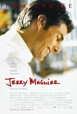 征服情海-Jerry Maguire (1996)原版電影海報