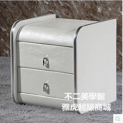 【格倫雅】^床頭櫃簡約 宜家儲物櫃住宅家具 歐式床頭櫃皮現代床邊櫃21414[g-l-y25