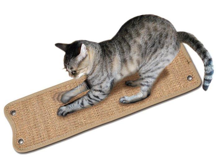 *COCO*日本MARUKAN雙面麻製抓板CT-403 耐抓不掉屑 麻布貓抓板/吊掛、平放兩用