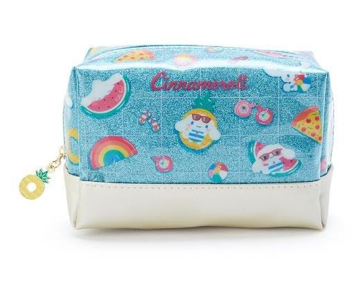 【莓莓小舖】正版 ♥ Sanrio 三麗鷗 熱帶海灘系列 Cinnamoroll 大耳狗 方型化妝包