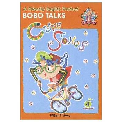 BOBO English Learning-Book 4(Cute songs- Bobo talks)幼兒美語教材課本