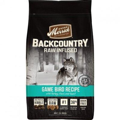 Merrick BackCountry 無穀物天然全犬糧- 獵鷹配方