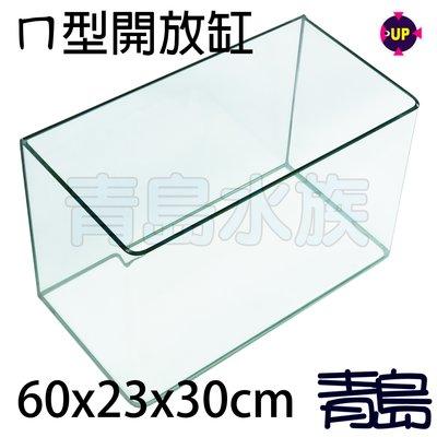 AA。。。青島水族。。。OT-L-60台灣UP雅柏-EASY TANK五合一ㄇ型開放缸==高透明60*23*30cm