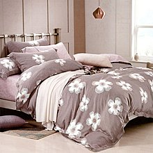 【Jenny Silk名床】西蕾.100%天絲.超柔觸感.加大雙人床包組兩用鋪棉被套全套