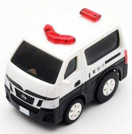 【秉田屋】TomyTec Z-25c Choro-Q 阿Q Zero Nissan 日產 NV350 事故處理車 警車