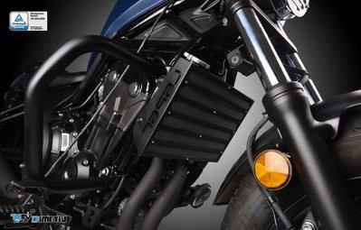 【R.S MOTO】HONDA REBEL500 水箱護網 水箱保護 (網面黑) DMV