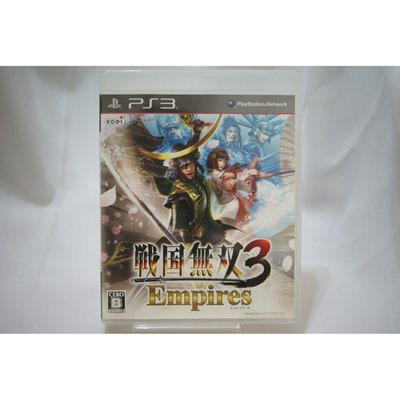[耀西]二手 純日版 SONY PS3 戰國無雙 3 Empires PlayStation3
