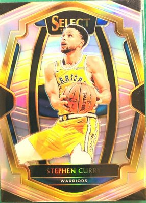 【☆ 職棒野球魂大賣場☆】 2018-19 Select Stephen Curry