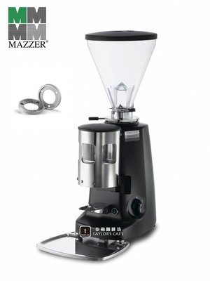【TDTC 咖啡館】MAZZER SUPER JOLLY MAN 義大利原裝定量磨豆機 (消光黑)