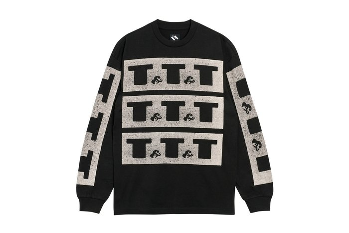 "[ LAB Taipei ] THE TRILOGY TAPES ""T&T&T L/S T-SHIRT"" (Black)"