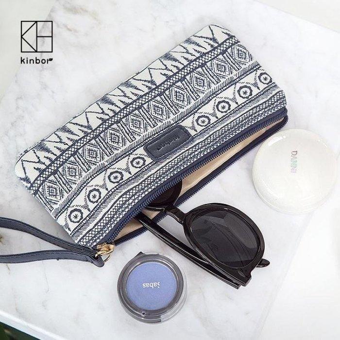 BELOCO 創意筆袋女大容量小清新日韓手包文具袋化妝BE655