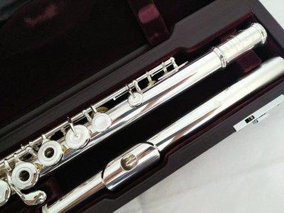 日本MURAMATSU DS純銀手工長笛(功學社正貨, 使用不到1年)