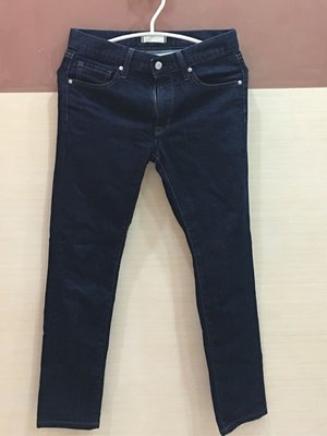 。☆二手☆。Uniqlo 男款牛仔直管長褲(28-70cm)/深藍//原價$1490//like new
