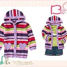 【B& G童裝】正品美國進口Crazy8 愛心口袋長袖針織毛衣外套18-24mos