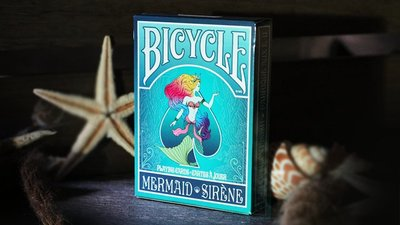 Mermaid 撲克牌 (Turquoise) by US Playing Card Co【USPCC撲克】S103049645