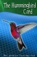 【天天魔法】【043A】蜂鳥牌(飛旋牌)(撲克飄浮)(名片飛旋)(Humming Bird Card)