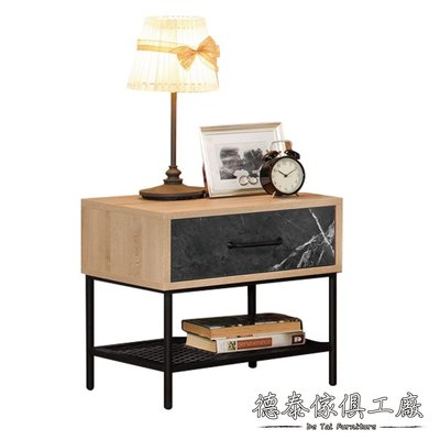 D&T 德泰傢俱 Renal 1.6尺床頭櫃 A002-001-6