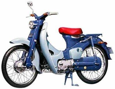 現貨 日製 初代Honda Super Cub 1958  1/12 模型摩托車 金旺 wowow 美力 擋車 含運