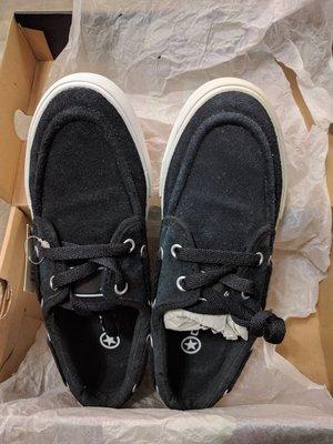 『BAN'S SHOP』Converse 麂皮 帆船鞋 全新 男女皆可 中性鞋款  US 6 (男)  US 7.5 (女)  EUR 38.5