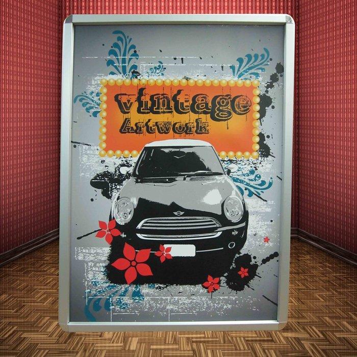 ~廣告舖~  鋁製可更換式海報框(A1: 65.5 x 90 x 1.8cm)