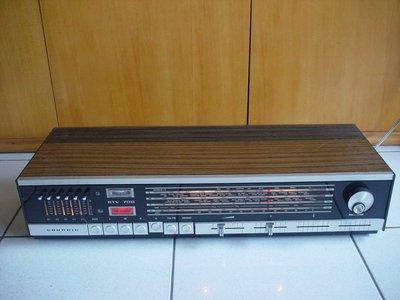 德國GRUNDIG Type RTV 700綜合收音擴大機,品相超優,值得珍藏not Telefunken