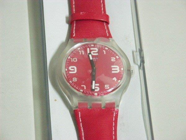 收藏家的最愛 SWATCH genuine leather S218 Original 原創系列 Vida loca SUDK104