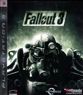 【二手遊戲】PS3 異塵餘生3 FALLOUT 3 英文版【台中恐龍電玩】