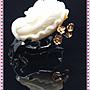 【家蓁香精品館】 收藏級 海南天然精品 玉化料 白菜『玉白菜、遇百財』 工料俱佳 硨磲擺件配贈底座(TR-A-02)
