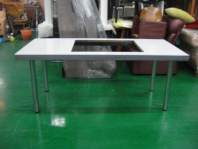 二手家具宏品 台中全新中古傢俱賣場 E526*多功能會議桌 業務桌 工作桌*2手桌椅拍賣 電腦桌 辦公桌 書桌