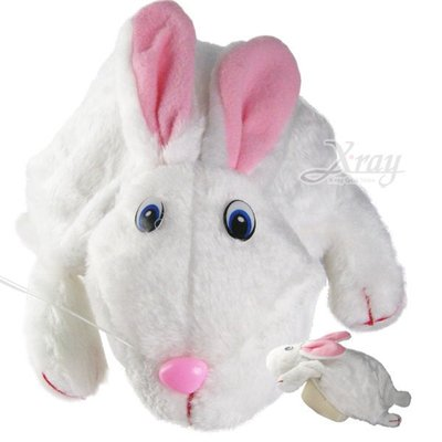 節慶王【W100161】動物造型帽(兔子),萬聖節/Party/角色扮演/化妝舞會/表演造型都合適~