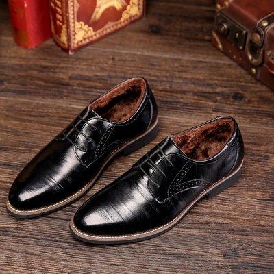 『老兵牛仔』CK-2538加絨款正品二層牛皮商務休閒皮鞋/二層牛皮皮鞋/時尚/彈力/耐摩/個性