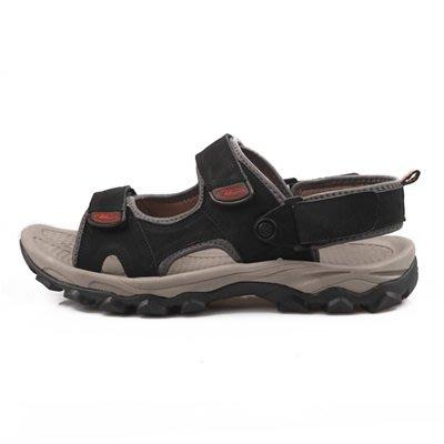 涼 鞋 真皮拖鞋-戶外休閒防滑耐磨男鞋子4色73sa9[獨家進口][米蘭精品]