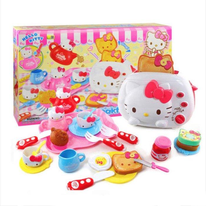 【W先生】Hello Kitty 凱蒂貓 凱蒂貓豪華早餐  女孩 家家酒 玩具 扮家家酒