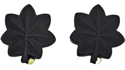 美軍公發 越戰 ARMY 陸軍 O-5 Lieutenant colonel 中校 金屬階級章 帽徽 低視度款 全新