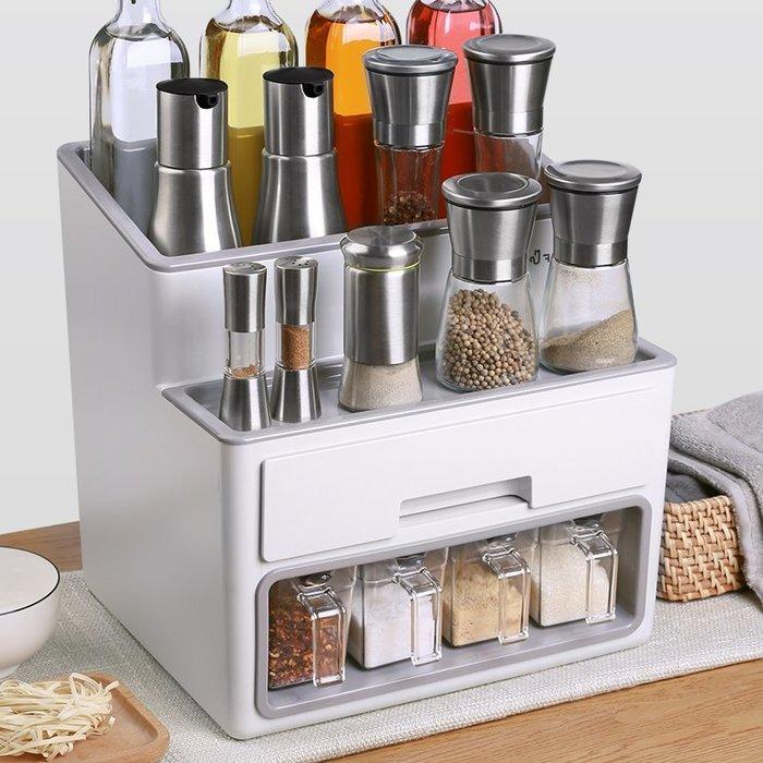 【berry_lin107營業中】調味料置物架廚房多功能家用放調料的架子省空間廚柜收納儲物整理