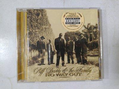 昀嫣音樂(CD32)PUFF DADDY & THE FAMILY NO WAY OUT 美國壓片 1997年 片況良好