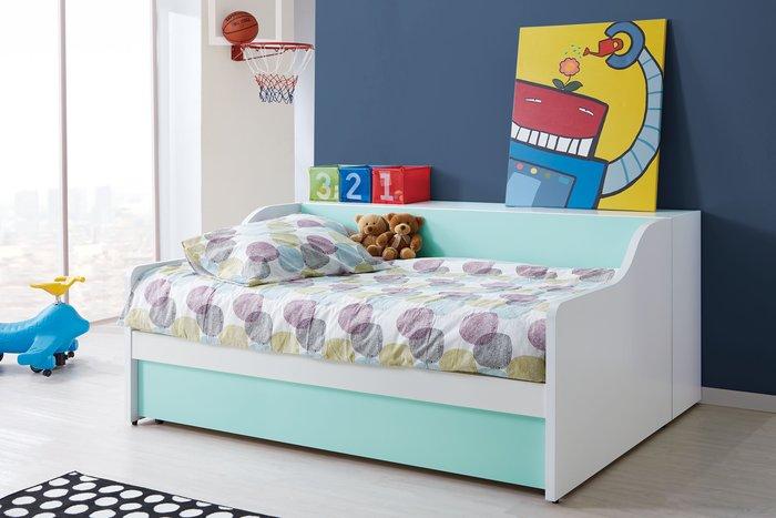 [歐瑞家具]JB-351-1 天天晴朗3.5尺子母床組 /不含床墊/系統家具/沙發/床墊/茶几/高低櫃/1元起