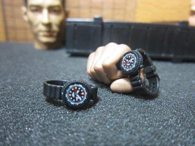 PG3Z特警部門 DID洛杉磯SWAT警用1/6指針手錶一支