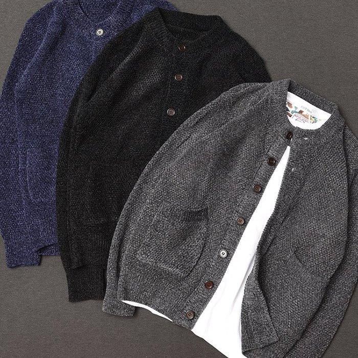 [C.M.平價精品館]新品特價/M~3XL/簡約有型知性品味保暖百搭針織外套