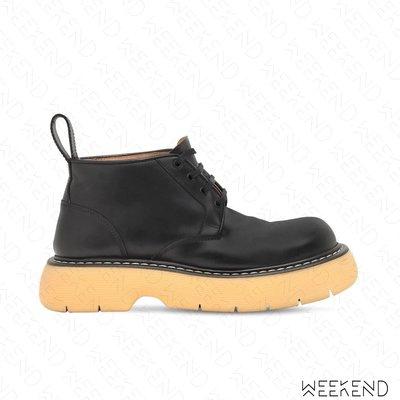 【WEEKEND】 BOTTEGA VENETA BV The Bounce 短靴 裸靴 靴子 黑色