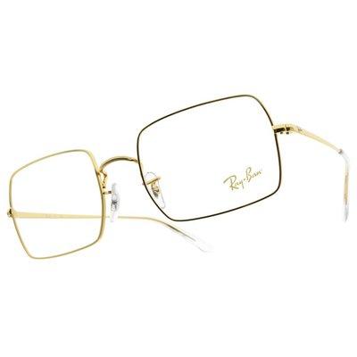 RAYBAN 光學眼鏡 RB1969V 3086 RECTANGLE系列 方框 -金橘眼鏡