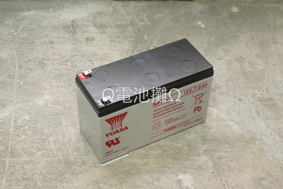 Ω電池攤Ω高雄·產業電池(VRLA)·YUASA NP7-12_ 標準型