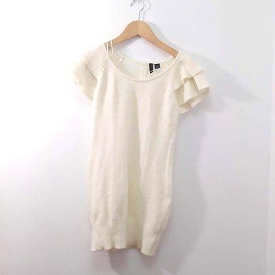 【專櫃品牌】近新DIVIDED短袖長版上衣