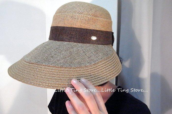 韓國專櫃帽精緻亞麻草帽鴨舌帽防曬大帽緣全包覆遮陽帽高爾夫球帽看不起眼的帽子戴起來超有型