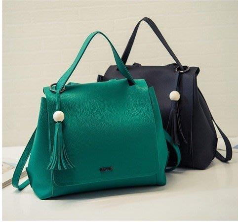 韓國明星崔智友同款東大門流行款3wa手提肩背後背三用包