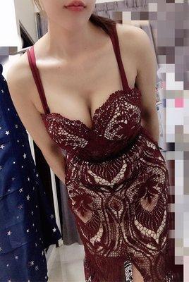 ⭐️謎音禮服洋裝特賣最後一波⭐️酒紅色...