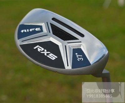 亚比@好物分享 專柜正品RIFE RX5高爾夫切推桿37度果嶺切Chipper高爾夫球桿特價